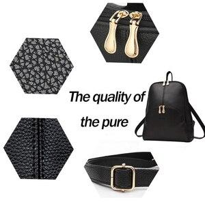 Image 4 - NEVENKA Soft PU Leather Backpack Women Casual Style Backpacks Mochila Feminina Bags for Women 2020