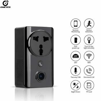 Kamera monitorująca IP kamera 1080P z ładowaniem domowa kamera wifi jednoprzyciskowe połączenie noktowizor wykrywanie ruchu kamera ip wifi tanie i dobre opinie ONEYES 1080 p (full hd) 3 6mm Box camera Ip sieci przewodowej CN (pochodzenie) Normalne Boczne Black 0 01 CMOS Sony Odporne na wandalizm