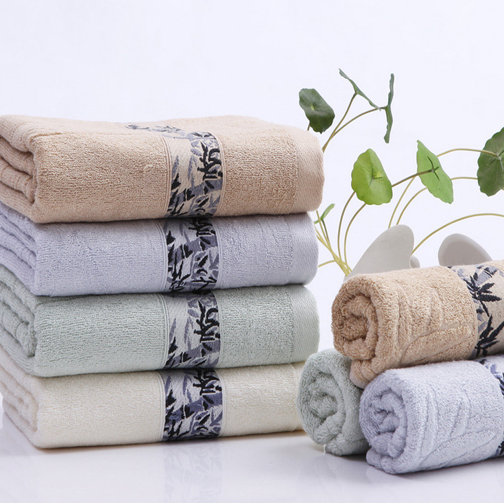 Aliexpress.com : Buy 100% Bamboo Fiber Bath Towel 140x70cm