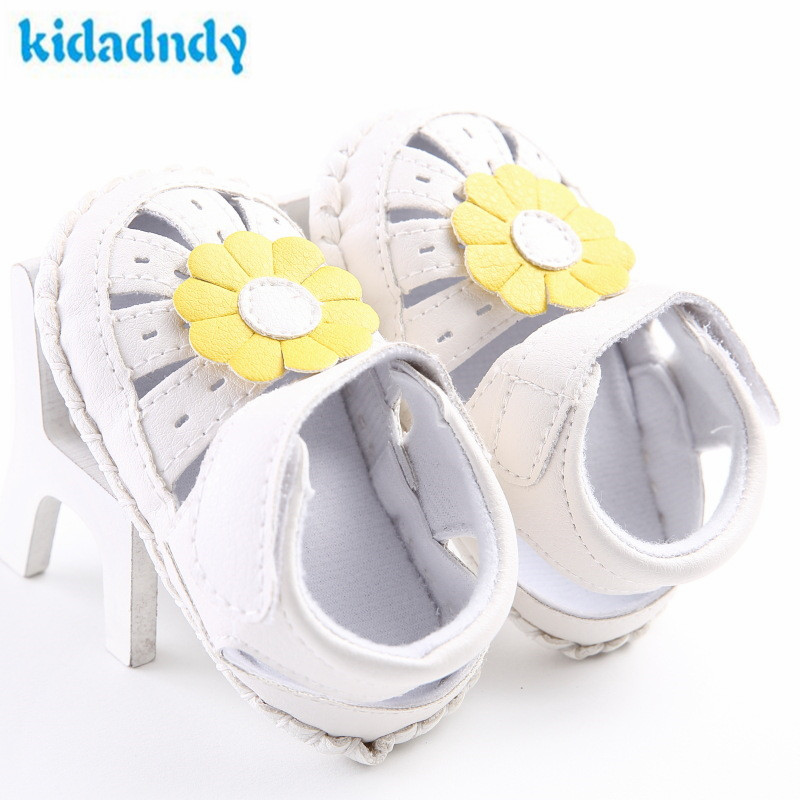 Kidadndy Toddler Shoes 0 To 18 Months, Female Baby Shoes With Rubber Soles For Antiskid Flower  Baby Shoes WXZ973 Infant Shoes