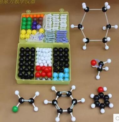 ZX-1004, high school organic chemistry, molecular structure model, stick + proportion model of organic molecules 184pc molecular structure model set new organic