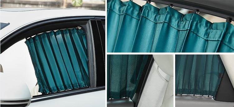 Aliexpress.com : Buy Blinds Car Curtains 3pair/set Side Rear .