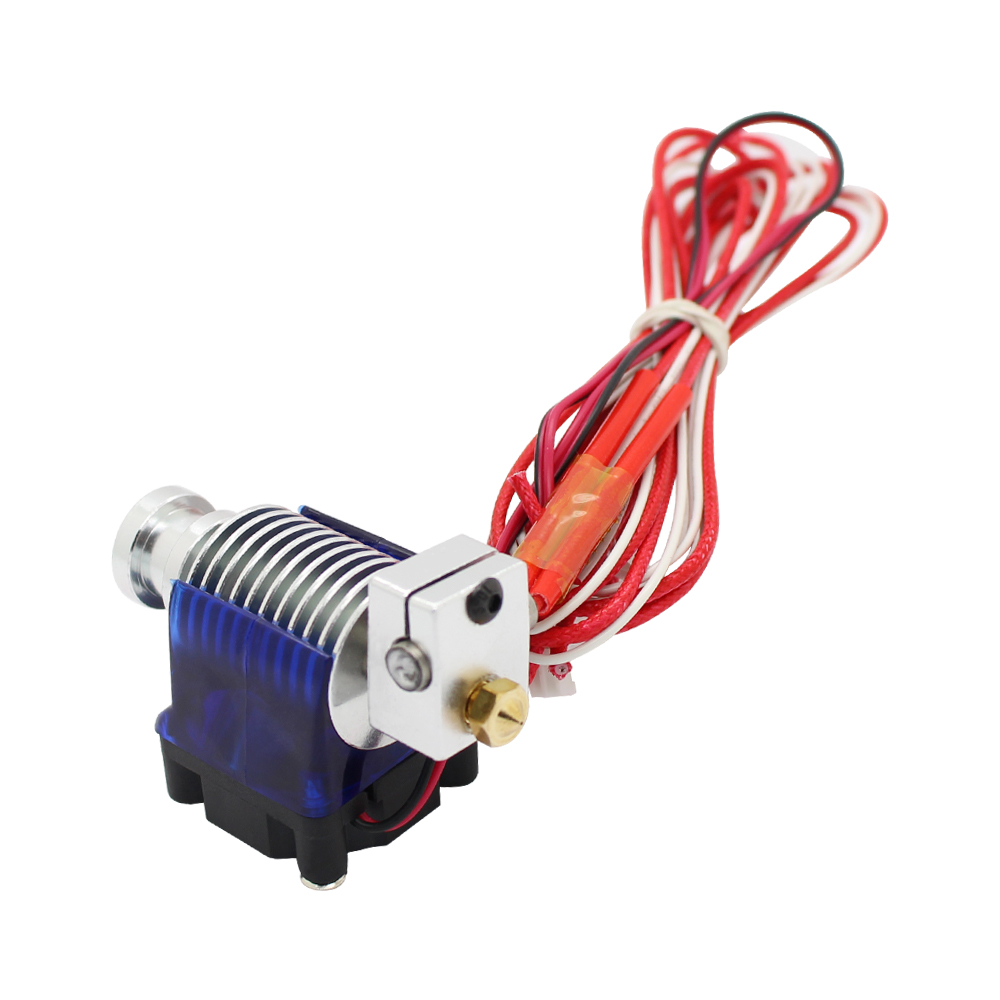 V6 Short distance J-head Hotend for 1.75mm/3.0mm Wade Extruder with Cooling fan for 3D Printer