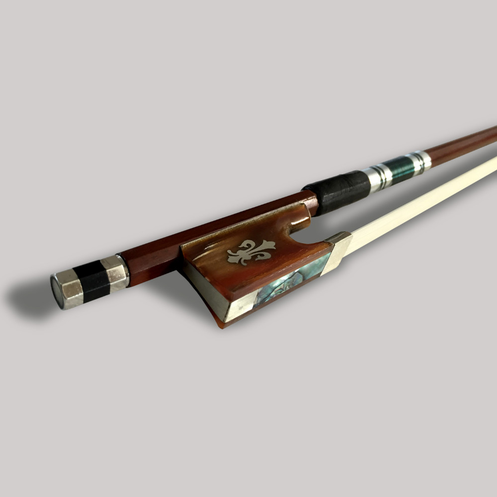 Prachtige strijkstrik 4/4 Brazilie Houten ebbenhouten kikker - Muziekinstrumenten - Foto 3