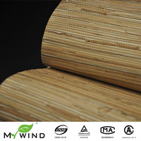Natural Sea Grasscloth Wall Paper Decorative textured Wallcovering grass home wallpaper for kids room