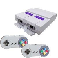 16 bit Entertainment system super mini classic TV handheld video game console two controller built in 100 real games AV output