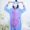 Animal Donkey Halloween Costumes Cosplay Adult Onesie Pajamas Jumpsuit Flannel Sleepwear Home Sleepwear