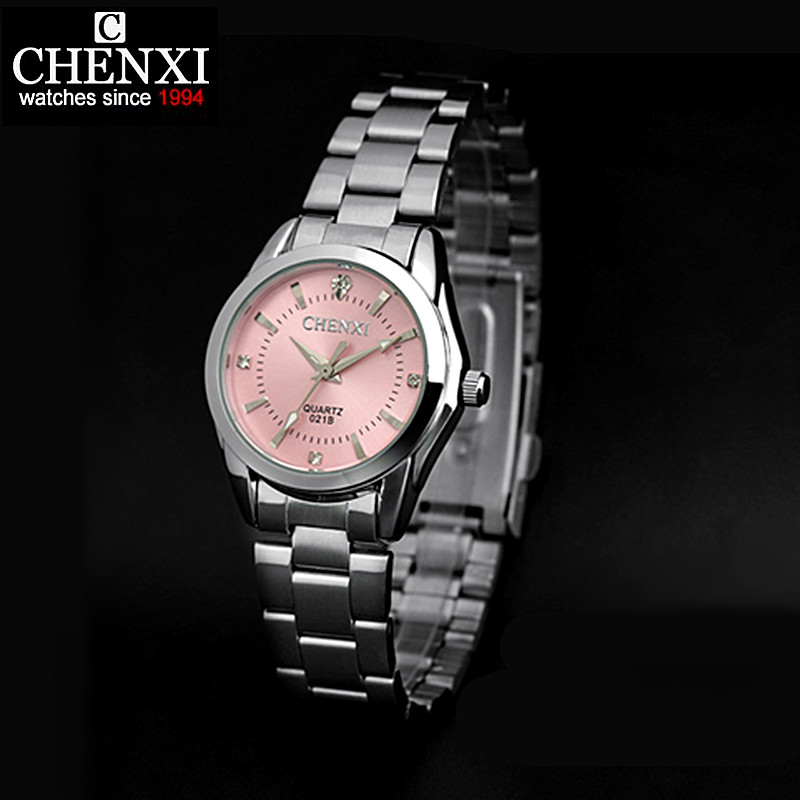CHENXI Brand Watches Women Casual Watch Ladies Luxury Fashion Rhinestone Watch Female Clock Hodinky Ceasuri relogio