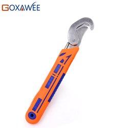GOXAWEE 8-32mm uniwersalna głowica klucz regulowany klucz grzechotkowy klucz narzędzia ręczne zestaw kluczy do nakrętek śruby narzędzia motocyklowe