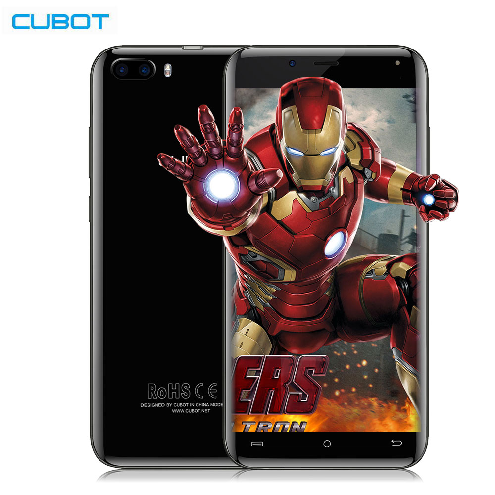 CUBOT Magic MTK6737 13MP Dual Cameras 4G Smartphone Android 7.0 IPS Screen Quad Core 1.3GHz 3GB+16GB 2600mAh 5.0 HD Cell Phone