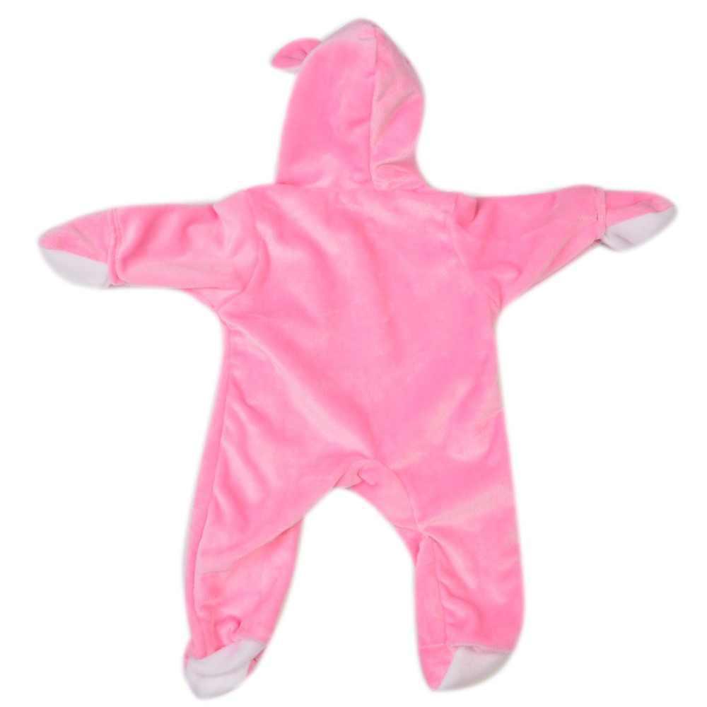 Модная Милая 17 дюймовая Одежда для куклы-младенца, изготовленная из розовых кристаллов, бархатные комбинезоны для девочек 43 см, Кукла Реборн, подарок на день рождения Аксессуары