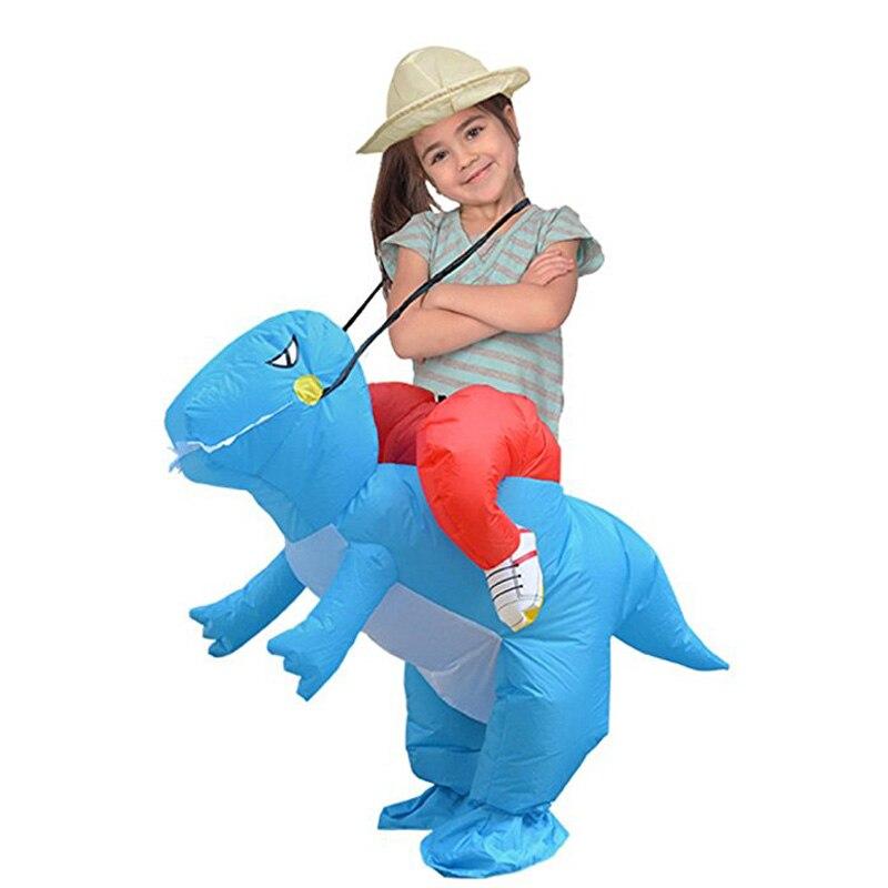 Inflatable Dinosaur Costumes Halloween Cosplay Costume (5)