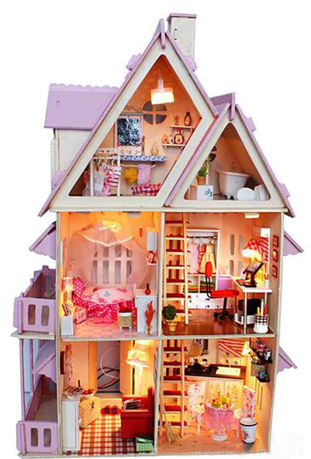 Popular Castle Doll House Buy Cheap Castle Doll House Lots From China Castle Doll House