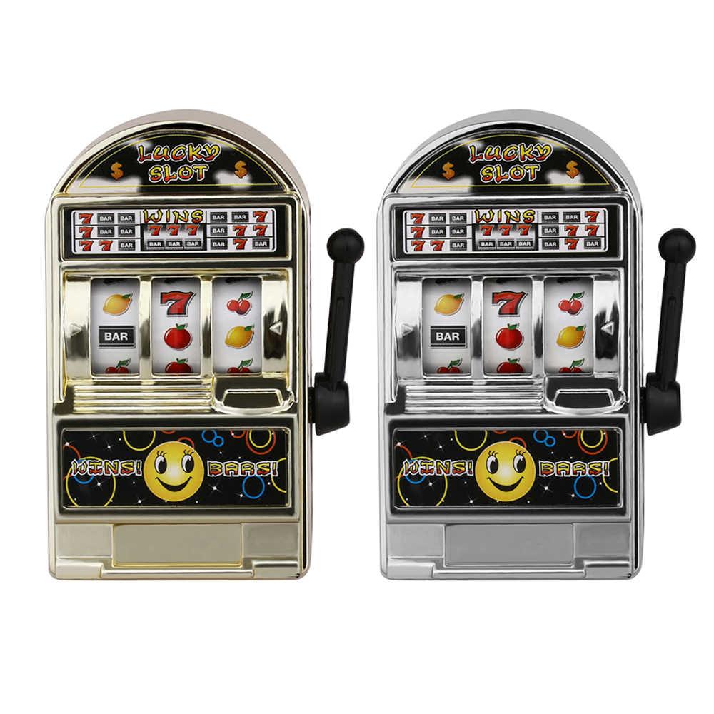 Kids Casino Jackpot Fruit Slot Machine Coin Savings Bank Moneybox Game Toy Gift Moneyboxes Moneyboxes Piggy Banks
