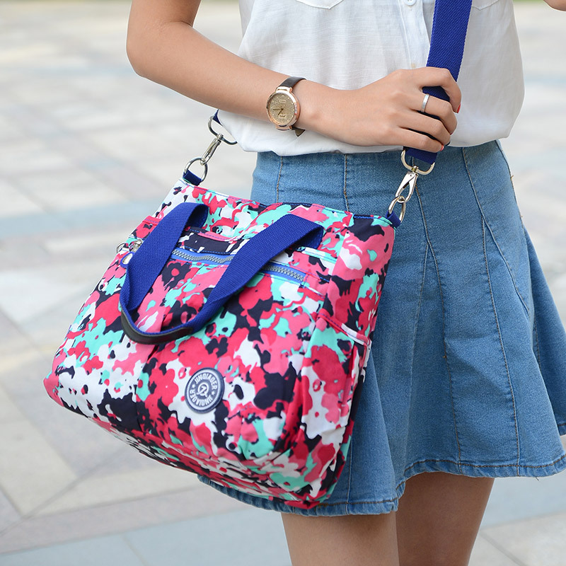 Classic Waterproof Nylon Women Messenger Bags Handbags Female Shoulder Bags Designer High Quality Crossbody Bags For Women