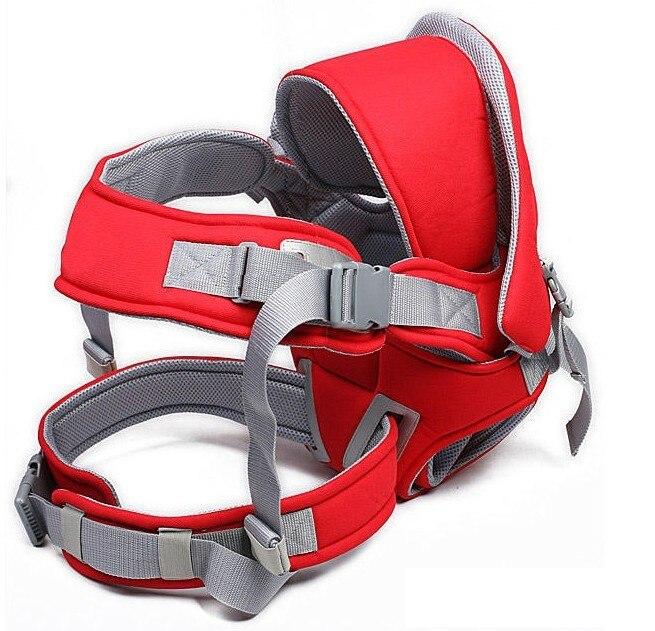 2016 porte-bébé en coton 0-30 mois multifonction face à l'avant sac à dos à bandoulière pour bébé pochette pour bébé kangourou avec ceinture