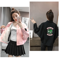 LUCKYFRIDAY Riverdale Jackets Women Trending Products 2019 Thin Harajuku Spring And Autumn South Side Serpents Jacket Clothes