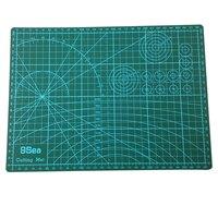 Herramientas Para Cuero A3 Rectangle Grid Line Self Healing Cutting Mat Tool Fabric Leather Paper Craft