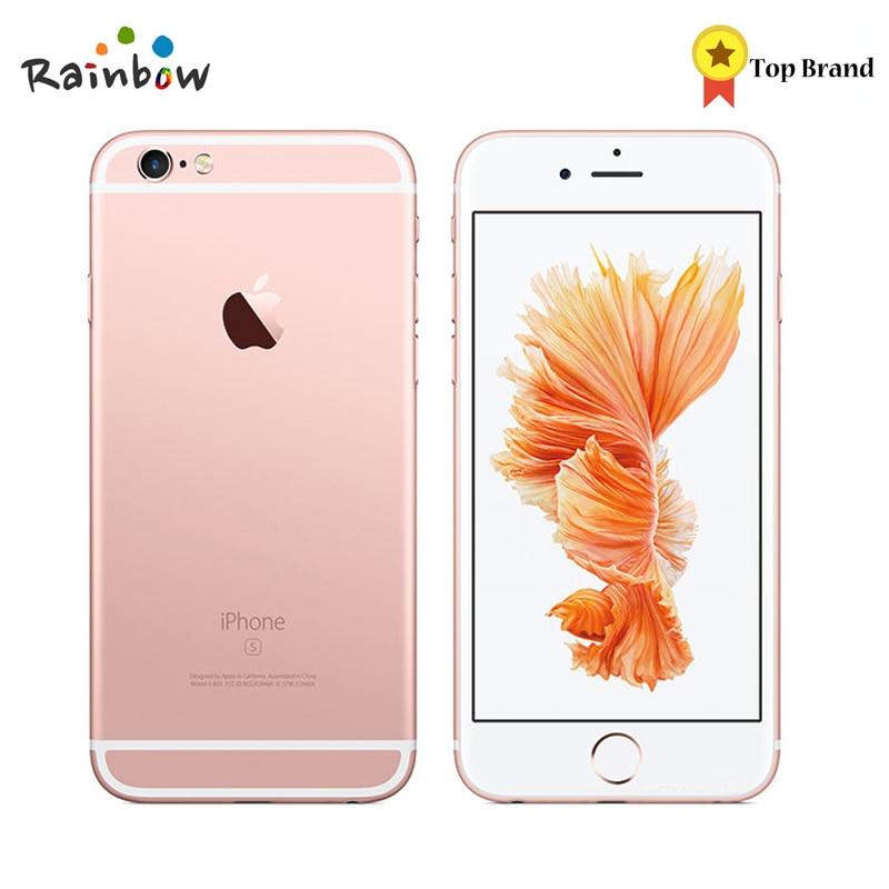 Оригинальный Apple iPhone 6S IOS Dual Core 2 ГБ Оперативная память 16 ГБ 6 4G B 128 ГБ Встроенная память 4,7 12.0MP Камера 4G LTE Мобильного Телефона