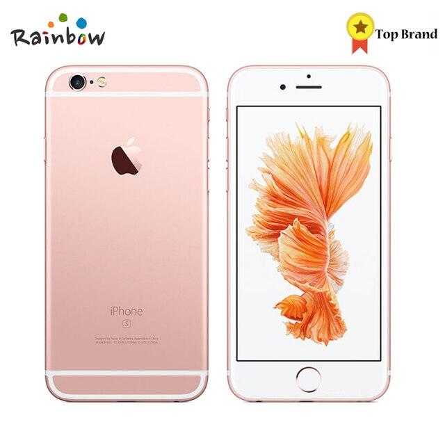 "Original Apple iPhone 6 iPhone 6 s iOS Dual Core 2 GB RAM 16 GB 64 GB 128GB ROM 4,7 ""12.0MP Cámara teléfono Móvil 4G LTE"