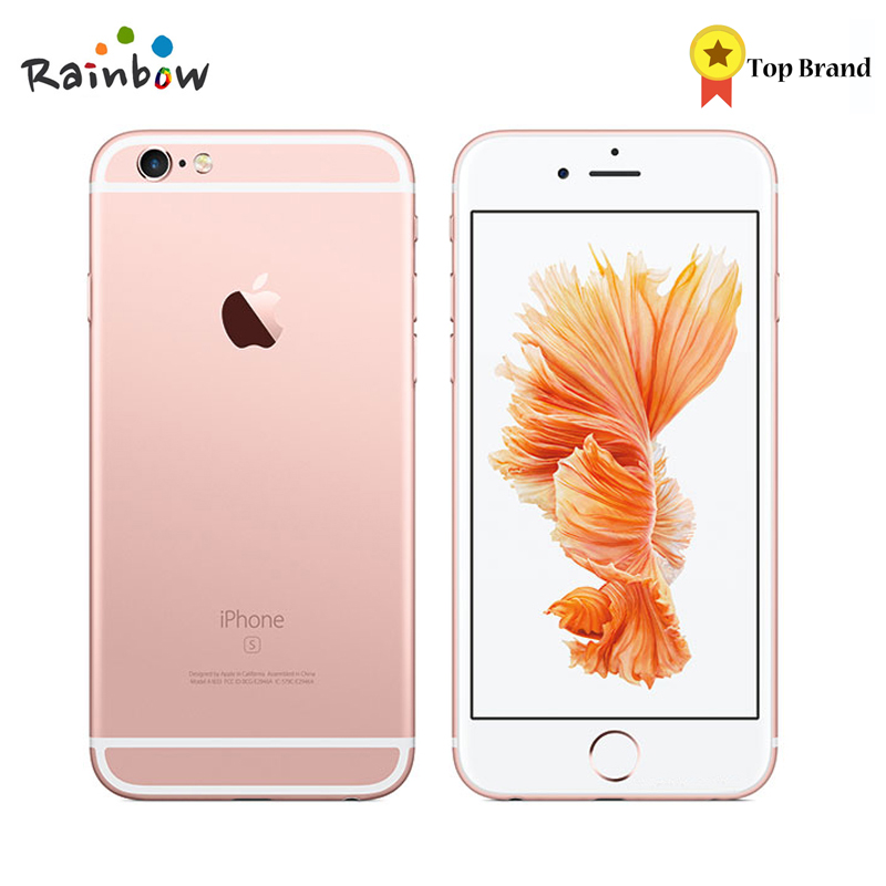 "Original Apple iPhone 6s iOS Dual Core 2GB RAM 16GB 64GB 128GB ROM 4.7"" 12.0MP Camera 4G LTE Mobile Phone