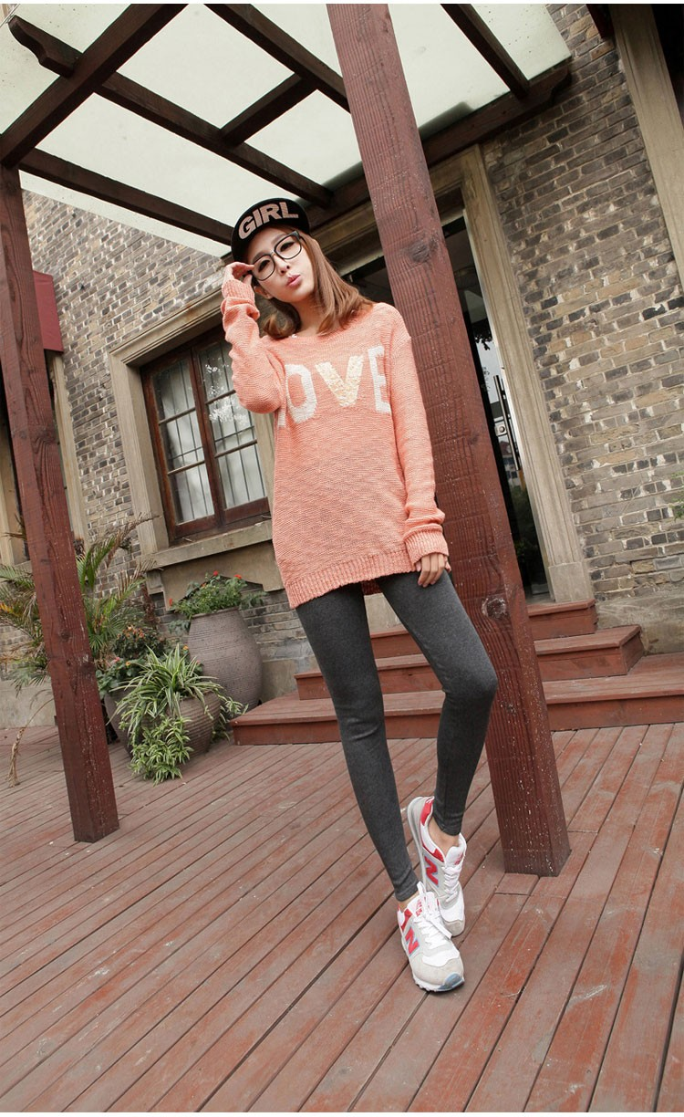 Women Clothing Leggings High Waist Leggings Maternity Clothes Winter Leggings Thickened Pregnant Women Trousers Warm Pants 2016 5