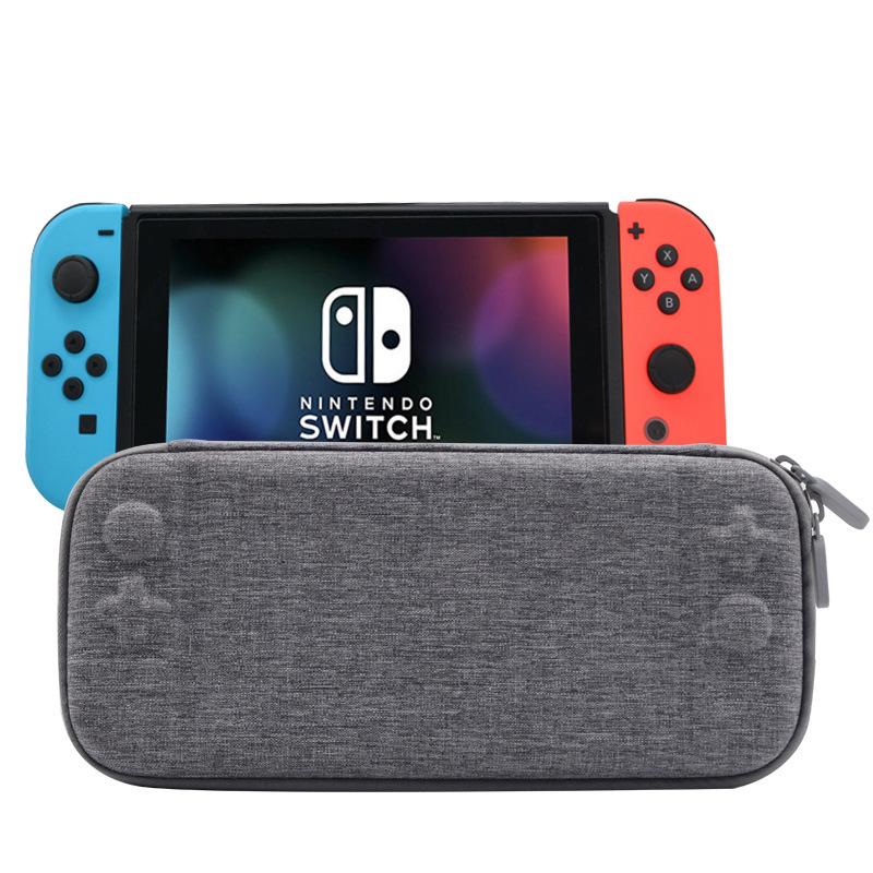 EVA Hard Bag Storage Travel Carry Pouch Case for Nintend Switch Protective Gray/Black Bags for NS Nintend Switch With Logo