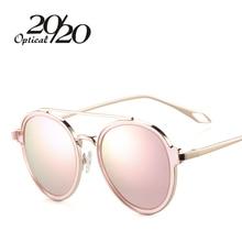 20/20 Vintage Lady Polarized Sunglasses Women Brand Design Twin-Beams Sun Glasses Round Glasses Driving Shades P0887