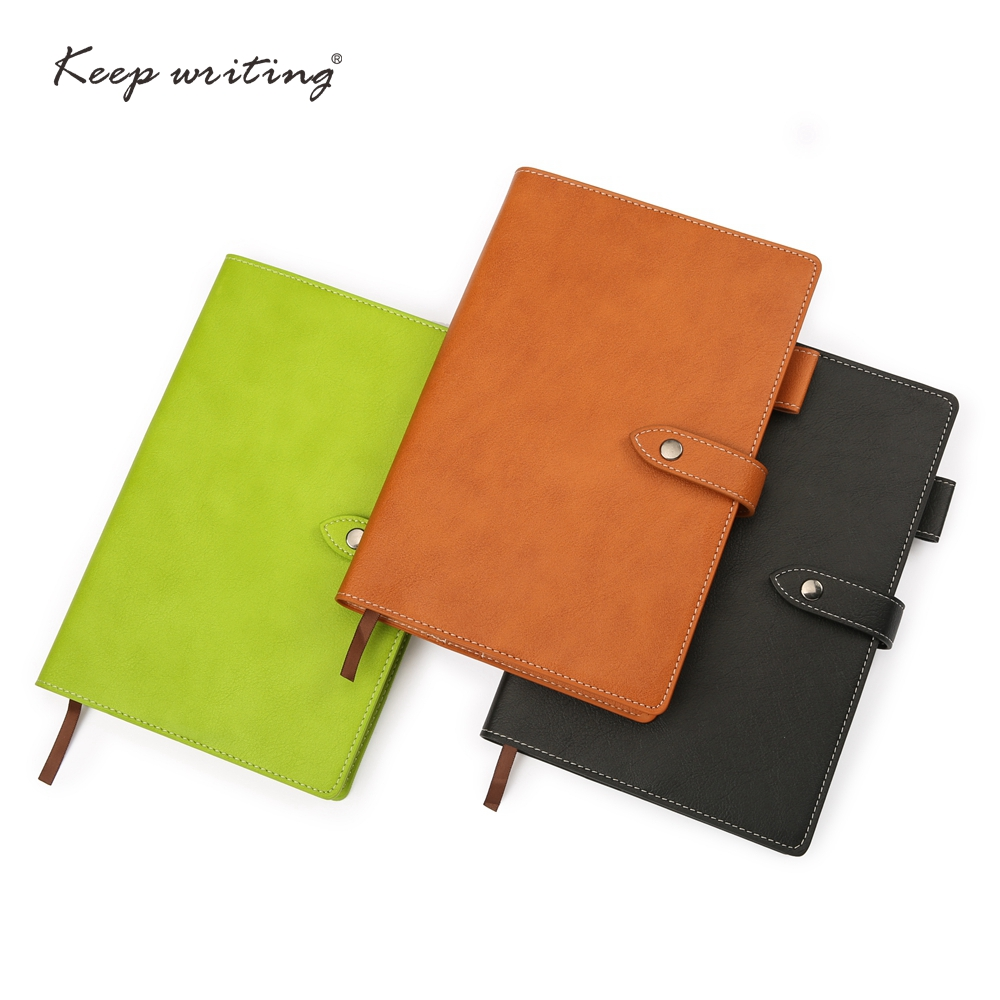 A5 notebooks with 146 sheets paper lined pages soft notebook journal diary PU leather note book planner notepad stationery 1 pcs