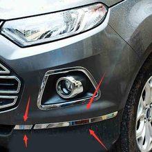 Из нержавеющей стали после Бампер Защитный отделкой полоса-Стайлинг для FORD Ecosport 2013 2014 2015 2016 автомобильные аксессуары