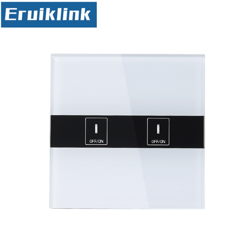 EU//UK Standard Wifi Control Schalter, eWelink APP Fernbedienung Licht Schalter über Android//IOS für Smart Home Wand Touch schalter