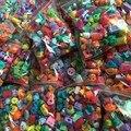 2017 HOT Niños Jugando Tienda de Regalo de Cumpleaños Del Juguete Kawaii Kines Fruta Acción figura Muñecas 1 2 3 4 5 6 7 Temporadas Pluma Títeres 100 Unids/lote