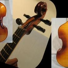"""Барокко Стиль SONG Maestro instate Frets 4 string 15 1/"""" viola da gamba#12979"""