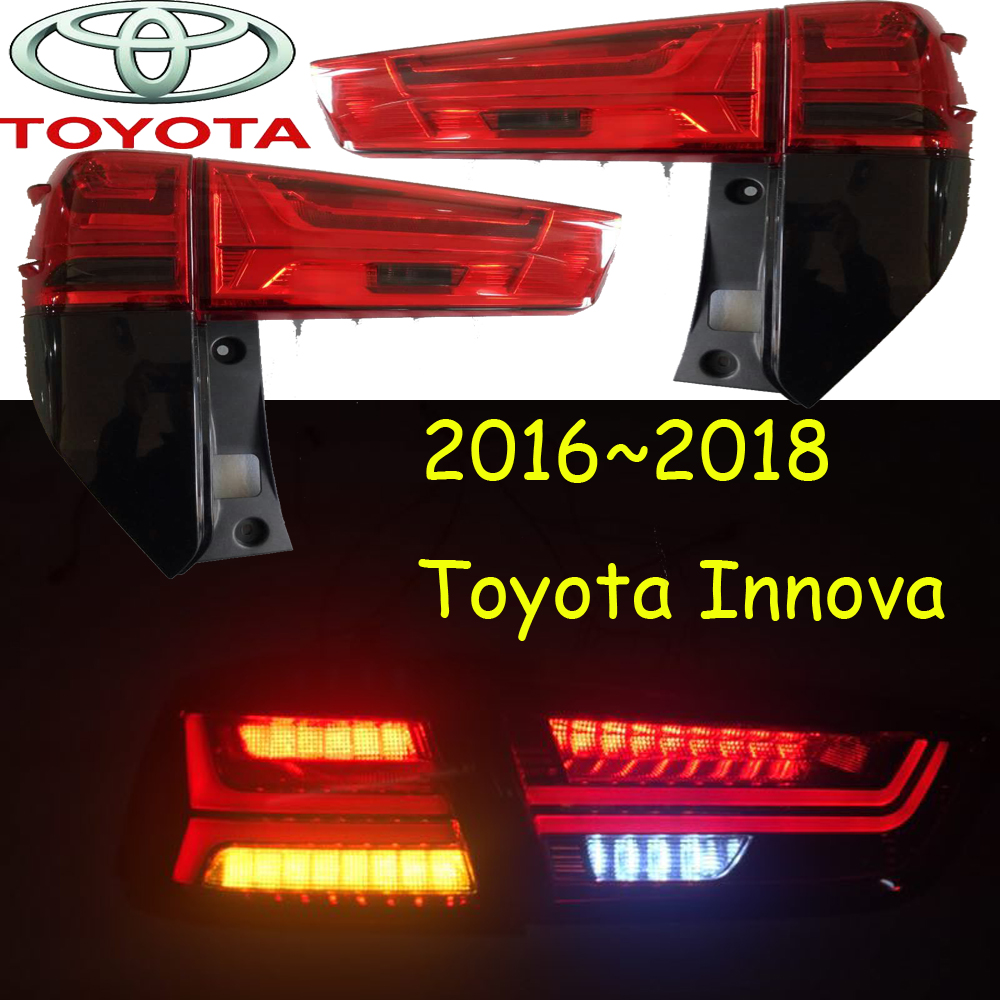 Innova taillight,2012 2013 2014 2015 2016 2017 2018year;Free ship!LED,2pcs,VIGO,Fortuner,Innova rear light,Innova fog light