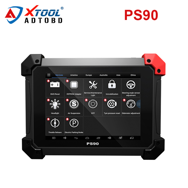 US $1300 0 20% OFF|Free Shipping XTOOL PS90 Car Diagnosis System Tool  Lifetime Online Update Code Reader Key Programmer Same Like EZ500 EZ400  Pro-in