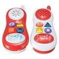 Telefone de brinquedo Telefone Crianças Estudo Aprendizagem Musical Som Brinquedos Educacionais Do Bebê Telefone Celular para Crianças