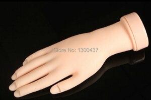 Горячая продажа ногтей практика мягкая пластиковая модель ручной инструмент для обучения акрилу