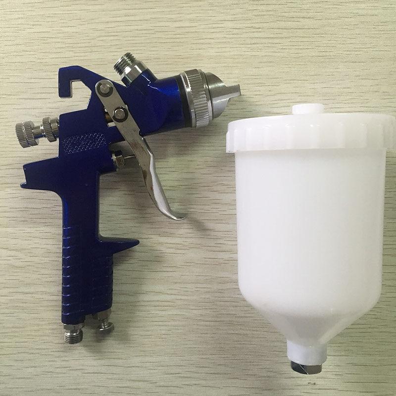 цена на SAT1191 professional paint spray gun airbrush bottle powder spray gun paints for car painting tools