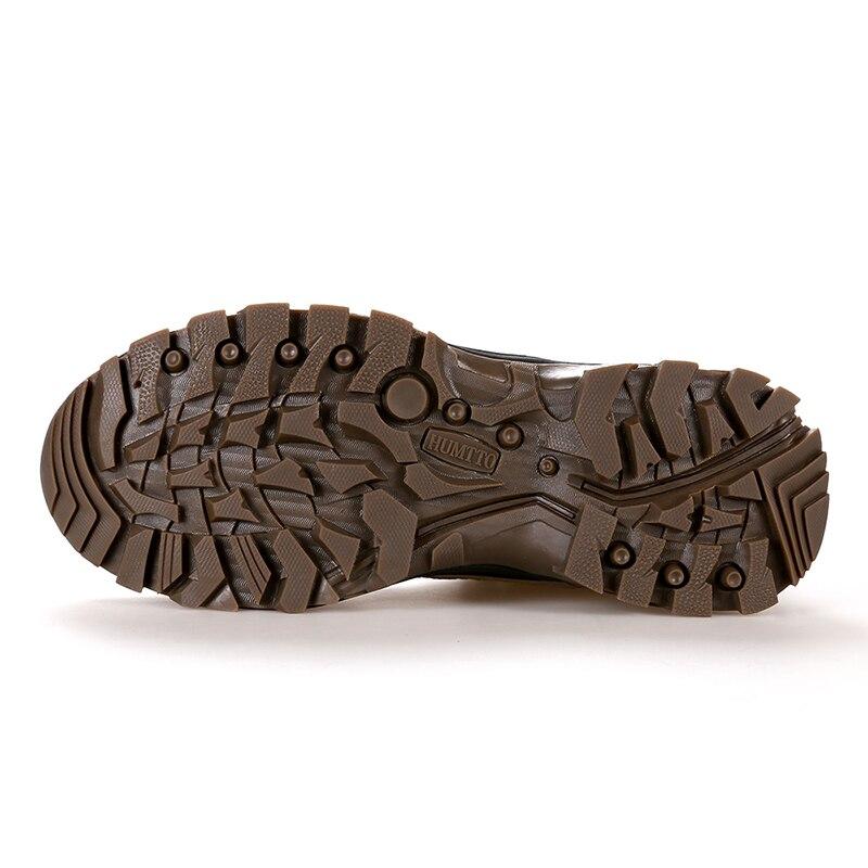 Мужская и женская альпинистская обувь; Короткие Водонепроницаемые ботинки с амортизацией и износостойкостью; зимняя теплая Уличная обувь - 4