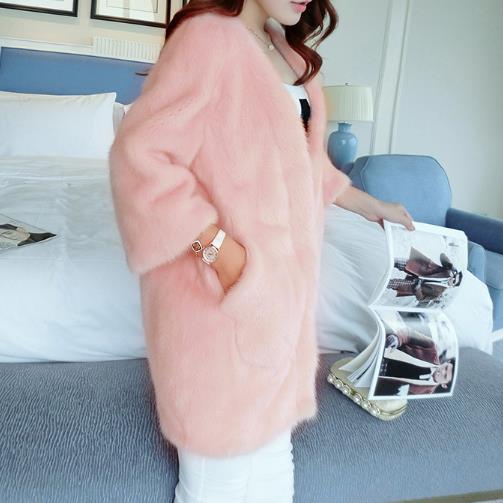 Nouveau Faux Outwear En Fourrure Femmes Z218 Plus Taille Femme La Manteau De Chaud D'hiver 2018 Veste Artificielle Fausse xIaYxr