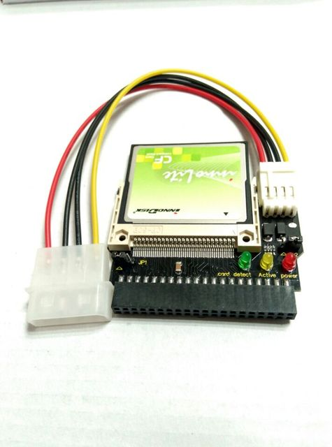innodisk Solid State IDE ATA 40-Pin 8GB Memory Drive Module SLC 8G