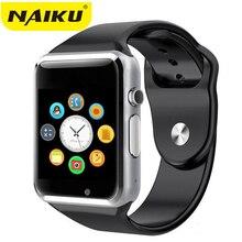 A1 Montre-Bracelet Bluetooth Montre Smart Watch Sport Podomètre Avec SIM Caméra Smartwatch Pour Android Smartphone Russie T15 bon que DZ09(China)
