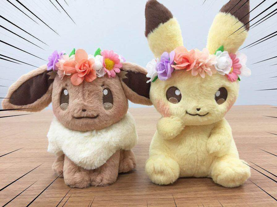 New Authentic Japan Anime Game Pikachu&Eievui's Easter Eevee 8