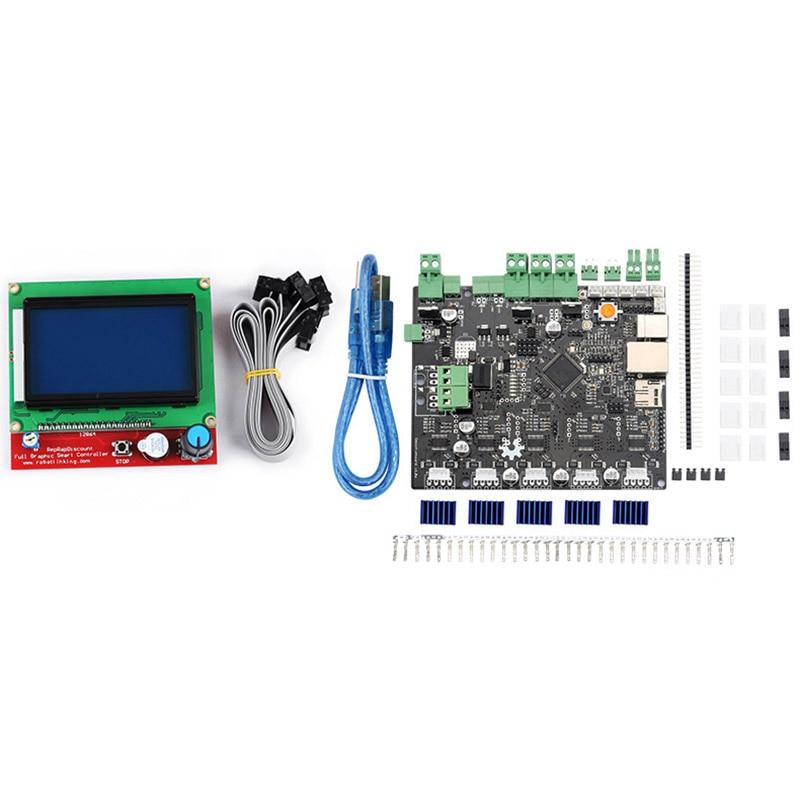 Kit d'écran d'affichage LCD 5X V1.1 + 12864 pour imprimante 3D LCC77