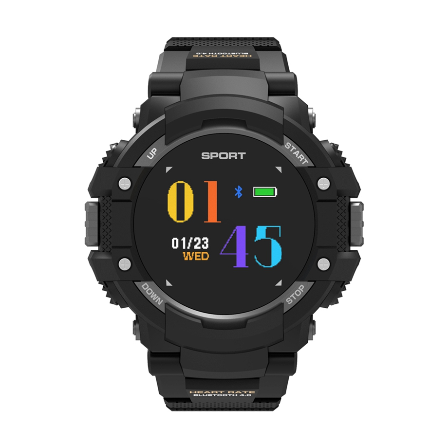 Man Multi-functional Smart Watch Black Silicone Strap Heart Rate Monitor Activity Tracker Bluetooth 4.2 relogio masculino все цены