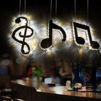 Originality Dining Room Led Crystal Chandelier Lighting Lustre Note Lamps For Home Restaurant Modern Chandeliers 110V