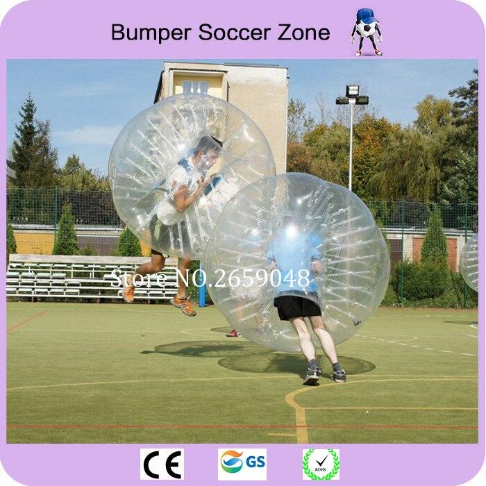 Diametro 1.5 m PVC Bolla di Calcio Per Adulti Calcio Bolla Paraurti Palla di Criceto Umana gonfiabile Sfera Dello Zorb Completo In Vendita All'aperto giocattolo - 2