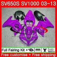 Обтекатель для SUZUKI SV1000S SV650S 03 04 05 06 07 08 106SH. 21 Фиолетовый Новый SV650 1000 S SV 650 S 1000 2003 2004 2005 2006 2007 2008