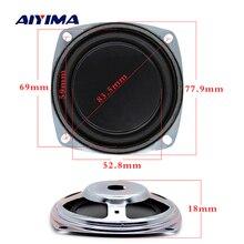 AIYIMA 2Pcs 3 Inch Bass Speaker Vibrating Membrane Bass Radiator Passive Radiator Rubber Diaphragm Passive Woofer DIY 77.9MM