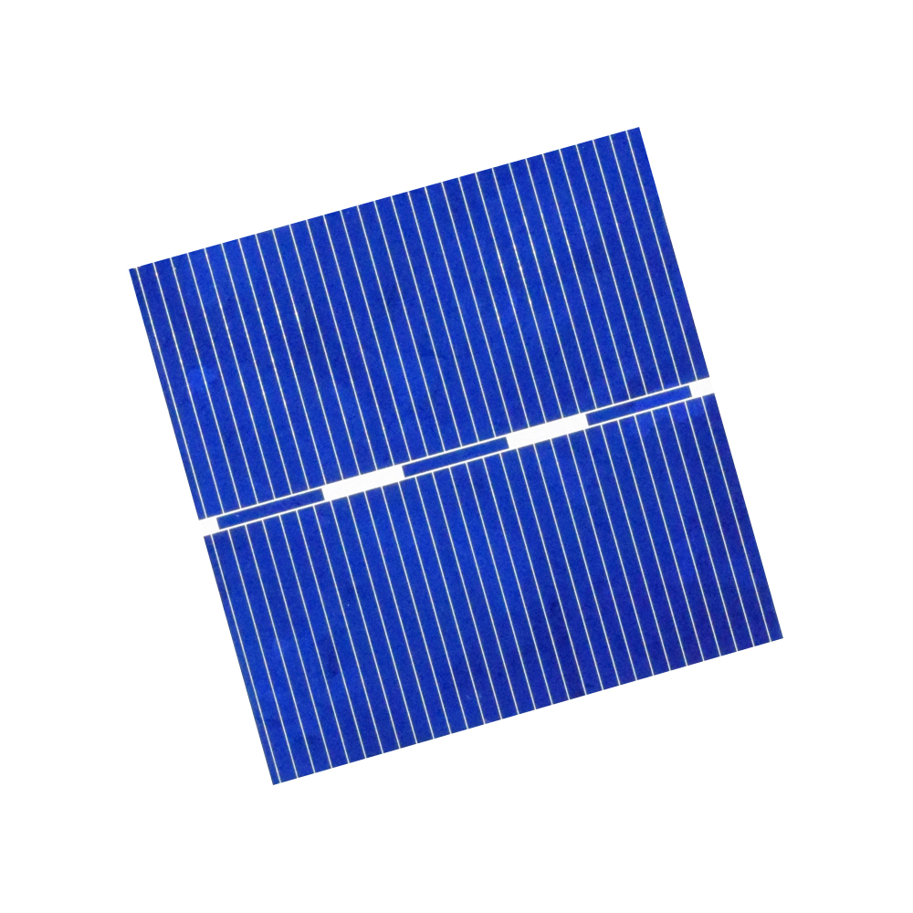 XINGPUGUANG 50Pcs 0.5V 18% Effciency Grade A 52*52MM Photovoltaic Polycrystalline Silicon Solar Cell For Solar Panel cells 955MA
